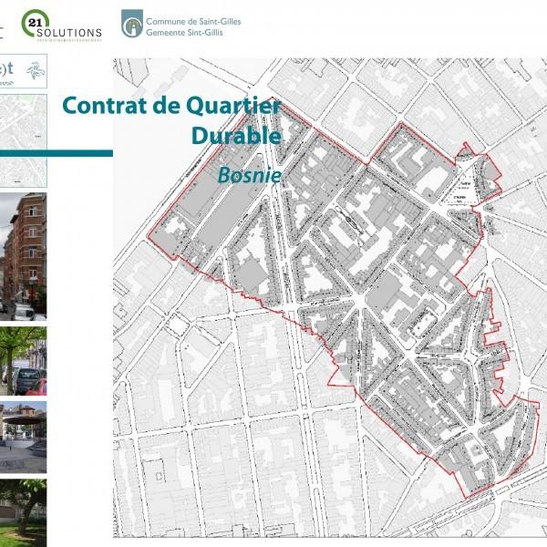 Volet participatif du Contrat de quartier durable Bosnie à Saint-Gilles
