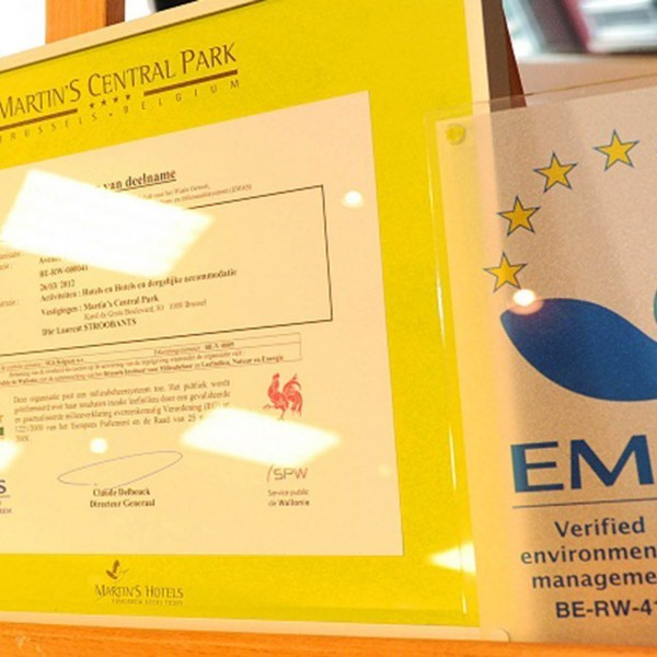 EMAS and ISO 14001 implementation within the Martin's Hotels group