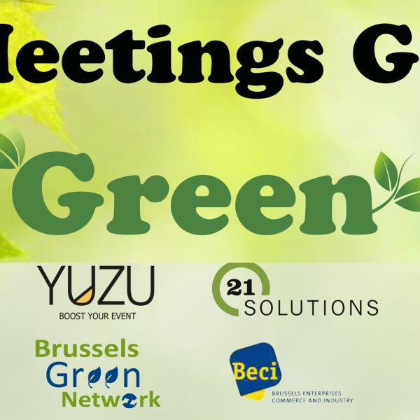 Guide « Meetings go green » – l'économie circulaire au sein de l'industrie de l'évènement