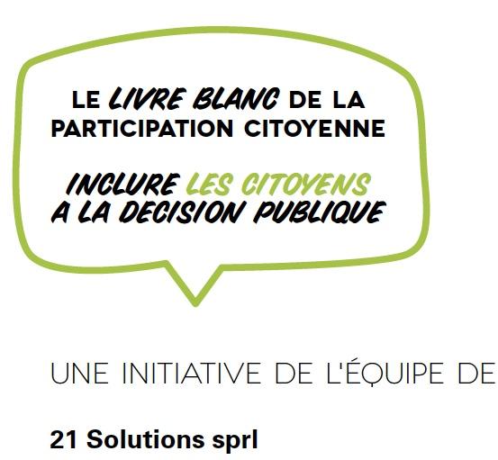 Le Livre blanc de la participation citoyenne